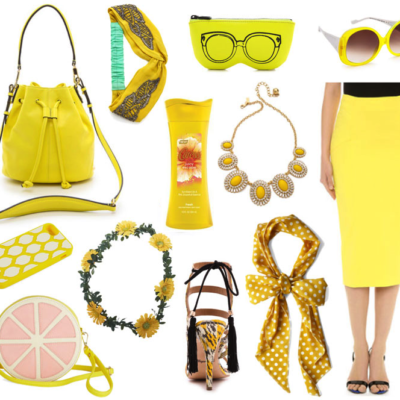 Love. Want. Need. All Things Yellow