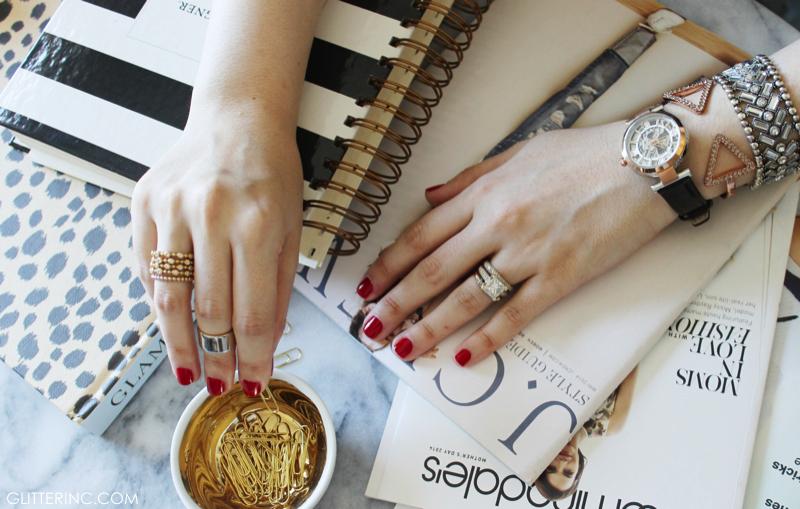 Summer Jewelry Trend Mixing Metals Glitter IncGlitter Inc