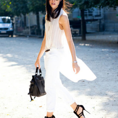 Street Style Trend Report: All White Everything