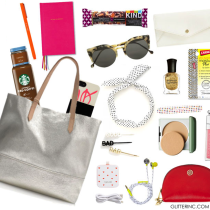 Summer Tote - What's in My Bag - glitterinc.com