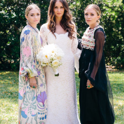 Mary-Kate and Ashley Olsen Design Gorgeous Wedding Fashion