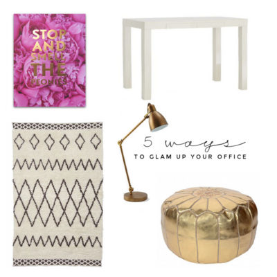 5 Ways To Glam Up An Office With Fancy Things Blog