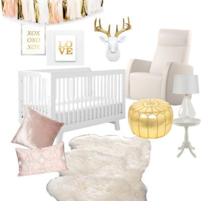 A Very Ladylike Nursery With Aubrey Kinch
