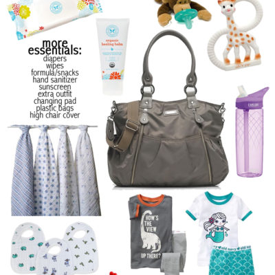 Diaper Bag Essentials With The Average Girls Guide