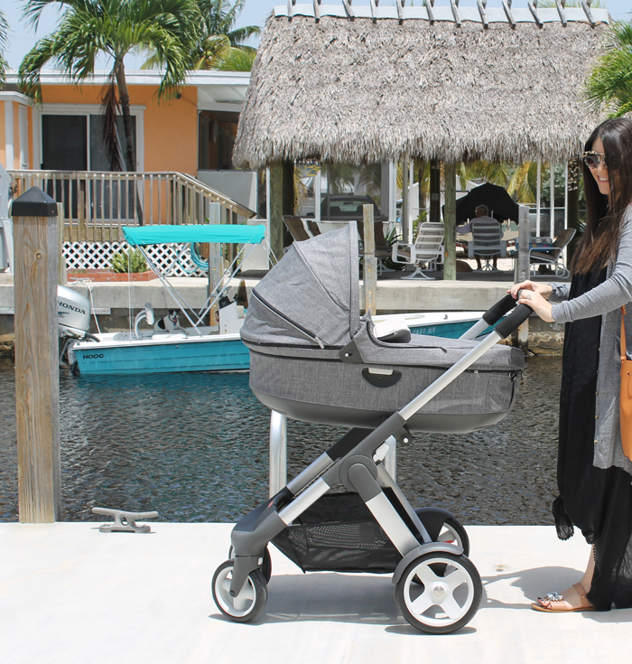Choosing Our Perfect Stroller: The Stokke Crusi  by NC blogger Glitter, Inc.