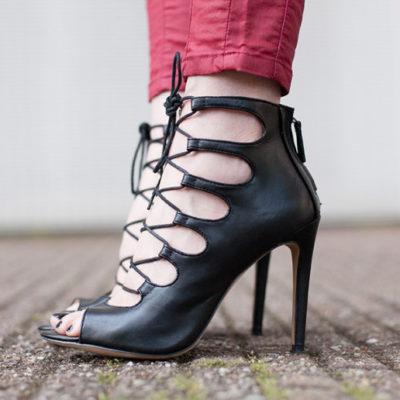 Trend Alert: Lace-up Sandals