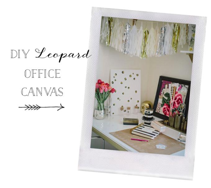 DIY-Leopard-Spots-Canvas---office---glitterinc.com