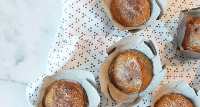 Cinnamon-Sugar Pumpkin Muffins - Recipe - Starbucks Coffee 4 - glitterinc.com