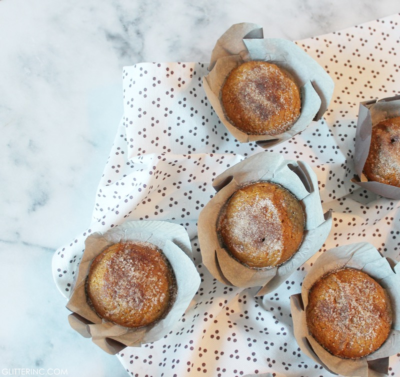 Cinnamon-Sugar Pumpkin Muffins - Recipe - Starbucks Coffee 4 - glitterinc.com