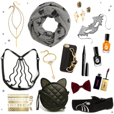 How To: Chic Halloween Dressing