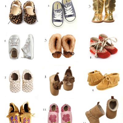 Where to Buy The Cutest Baby Shoes