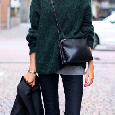 Fashion Classic: Little {Crossbody} Black Bag