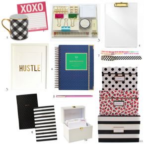 gift guide office chic - cover photo - glitterinc.com
