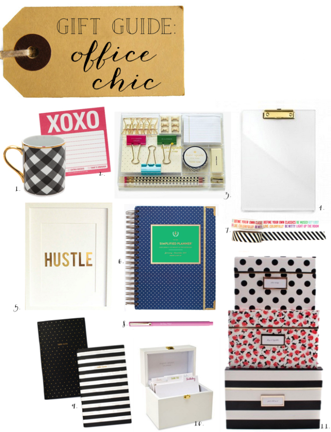 gift guide office chic - glitterinc.com