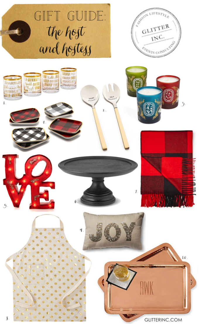 holiday christmas gift guide host hostess party home decor - glitterinc.com
