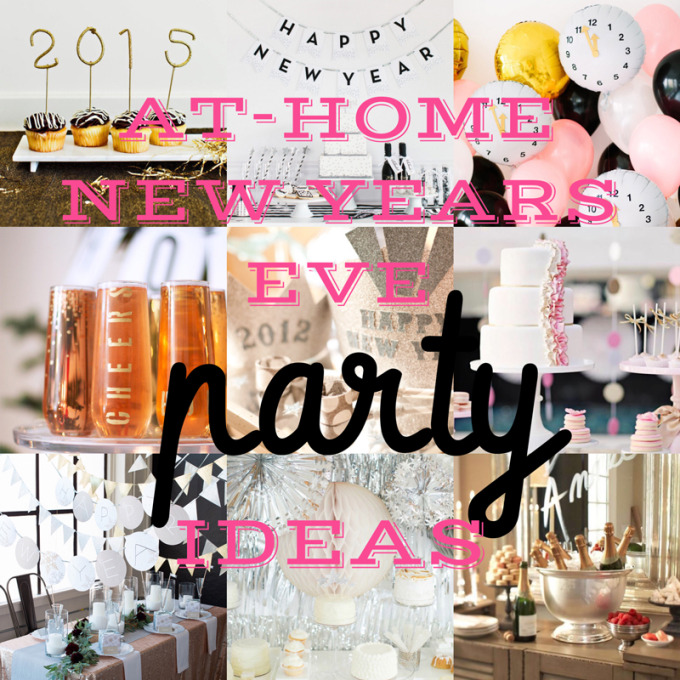 10 Favorite At-Home New Years Eve Party Ideas