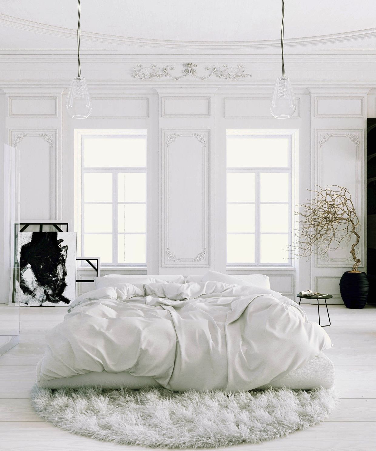 7 Tips for Creating the Perfect White Bedroom | Glitter, Inc.