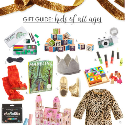 Gift Guide {The Littles} + a $100 Giveaway!
