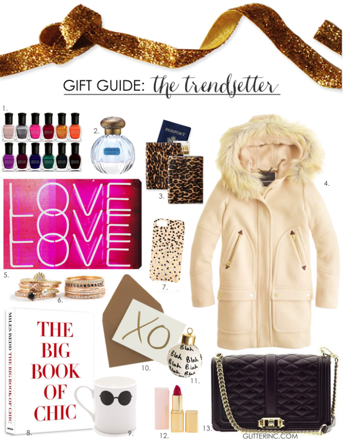 gift guide the trendsetter fashion for her - glitterinc.com