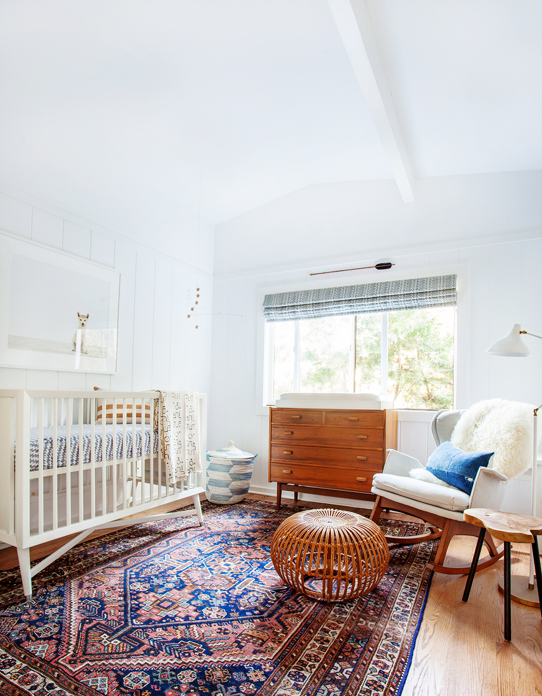 Amber Interiors Bohemian Nursery Baby Domaine