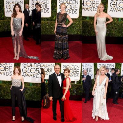 2015 Golden Globes Best Dressed