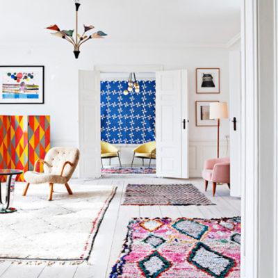 Design Files: Vintage Berber Rugs (a.k.a., boucherouite rugs)
