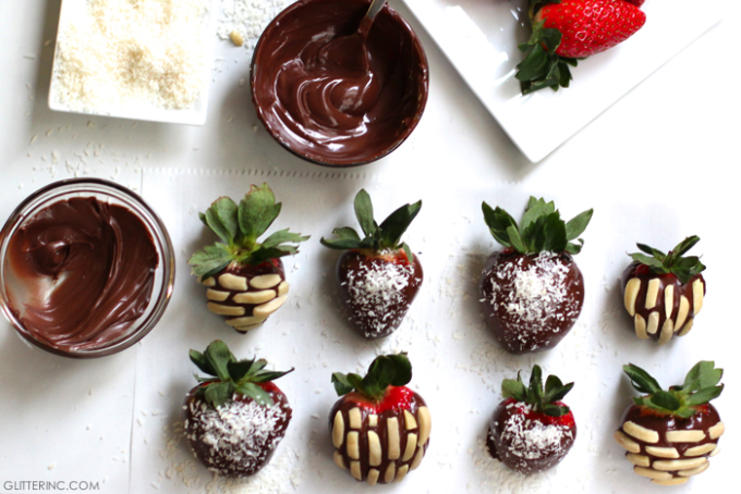 chocolate-and-nutella-covered-strawberries-with-toppings---glitterinc.com