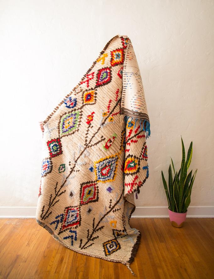 Vintage Berber & Boucherouite Rugs