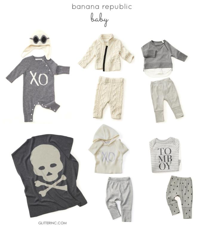 Banana-Republic-Baby---grey---skulls---glitterinc.com