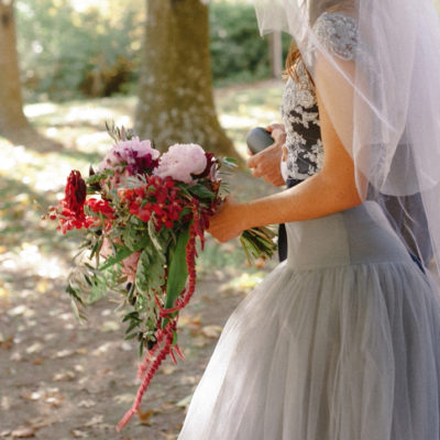 Wedding Fashion: Bohemian Tulle