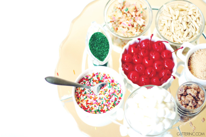 how to set up an ice cream bar