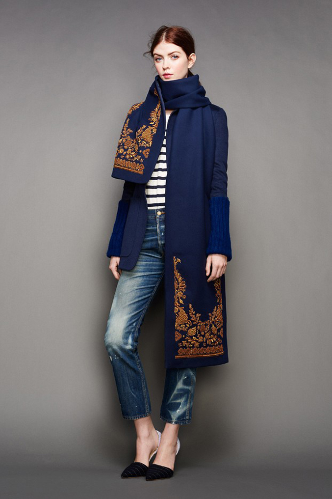 J.Crew-Fall-Winter-2015-Blue-Coat-Gold