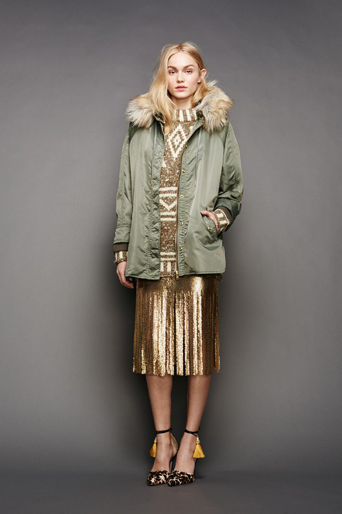 J.Crew-Fall-Winter-2015-Gold-Sequin-Dress-Parka