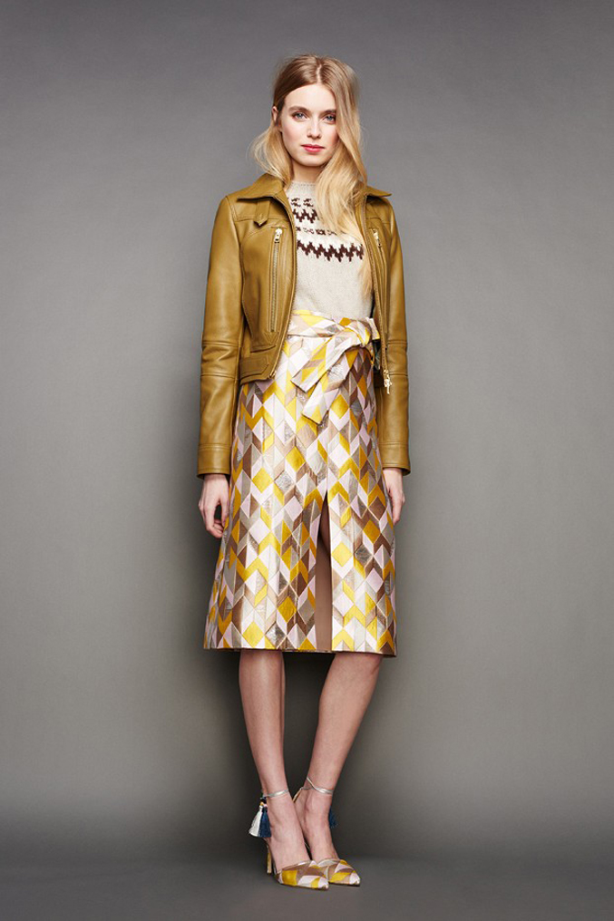 J.Crew-Fall-Winter-2015---Skirt-Leather-Jacket