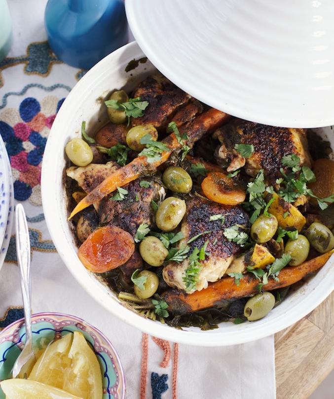 Moroccan-Chicken-Tagine