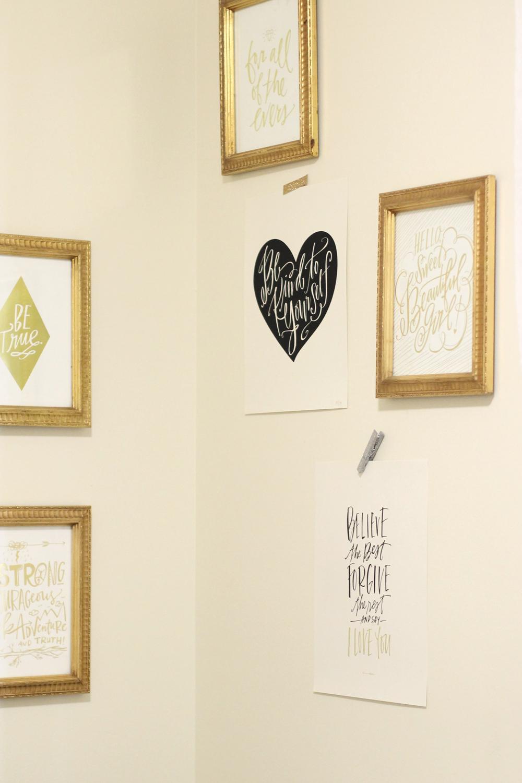 Scarlett-Nursery-Gallery-Wall-Gold---glitterinc.com