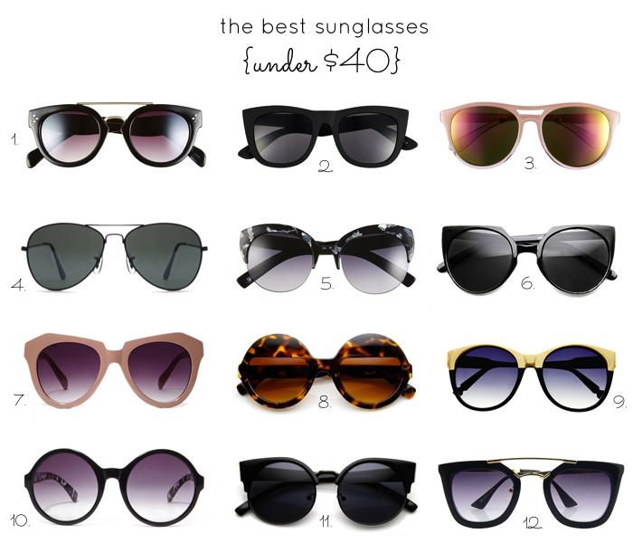 f12c59606d affordable sunglasses - under  40 - fashion - glitterinc.com. Shop the  Sunglasses  1. Steve Madden ...