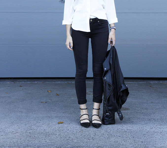 flat-strap-shoes-+-leather-jacket---black-white