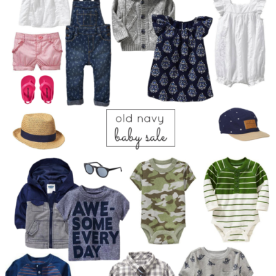Old Navy Baby Sale (Happening Now!)