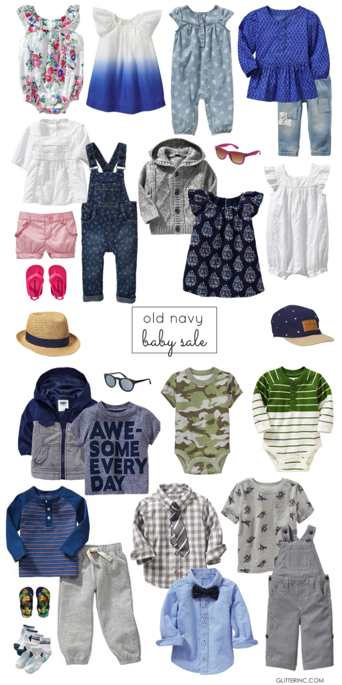 old navy baby sale - boys and girls - glitterinc.com