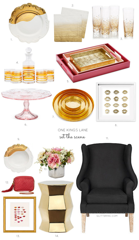one-kings-lane-set-the-scene---decor---gold-rose-black---glitterinc.com