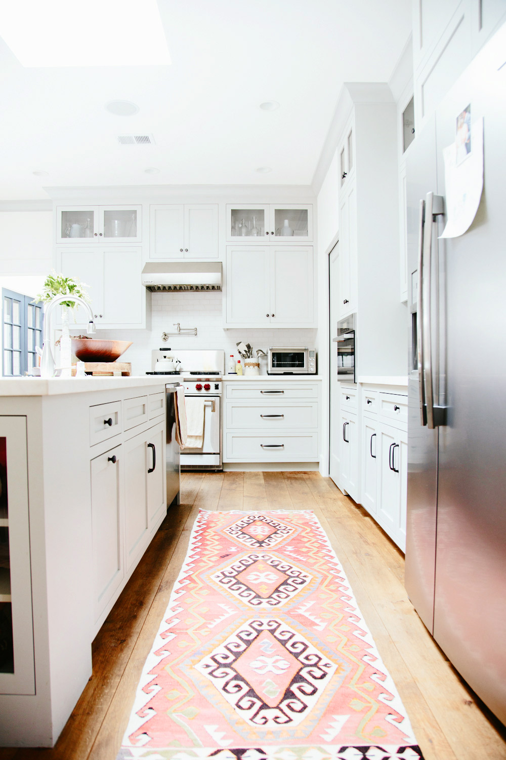 Vintage Persian Kilim Amp Turkish Rugs In The Kitchen