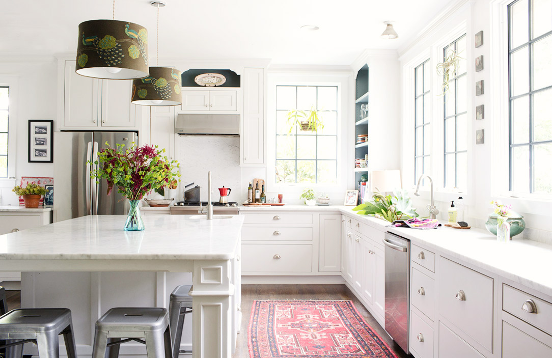 Vintage, Persian, Kilim And Turkish Rugs In The Kitchen (and Where To Shop