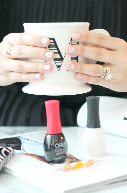 diy-polka-dot-manicure---orly-color-amp'd-nail-polish---glitterinc.com