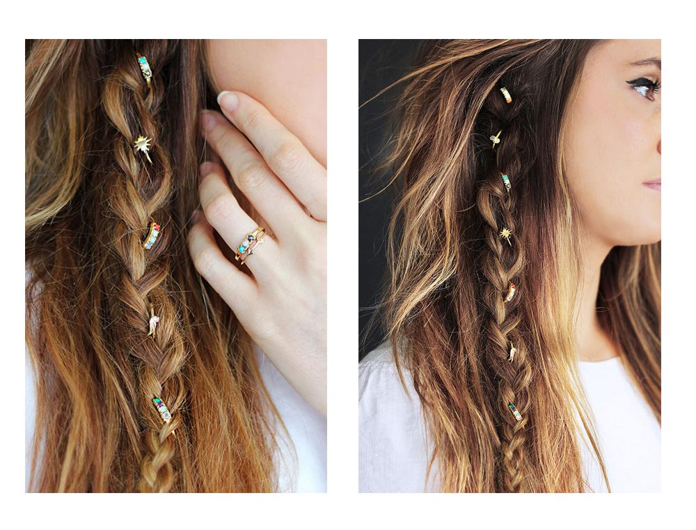 Glamorous Hair Jewelry Glitter Inc