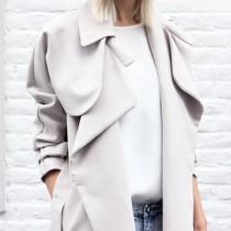 malene birger oversized trench coat