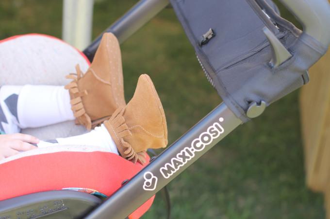 maxi-cosi-bohemian-red-carseat-stroller---gap-fringe-boots---glitterinc.com