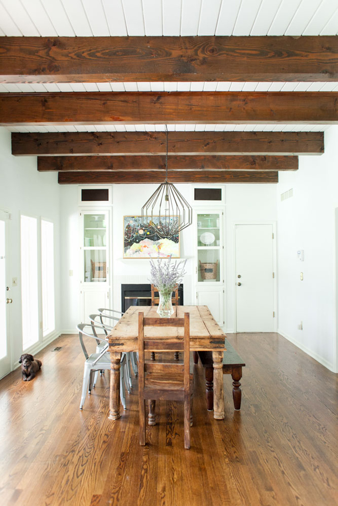 Rustic Dining Room Wood
