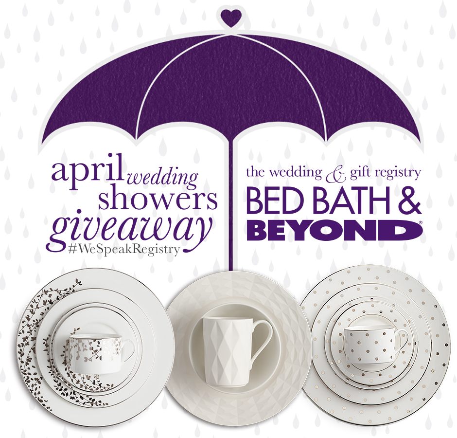 bed bath & beyond wedding registry giveaway