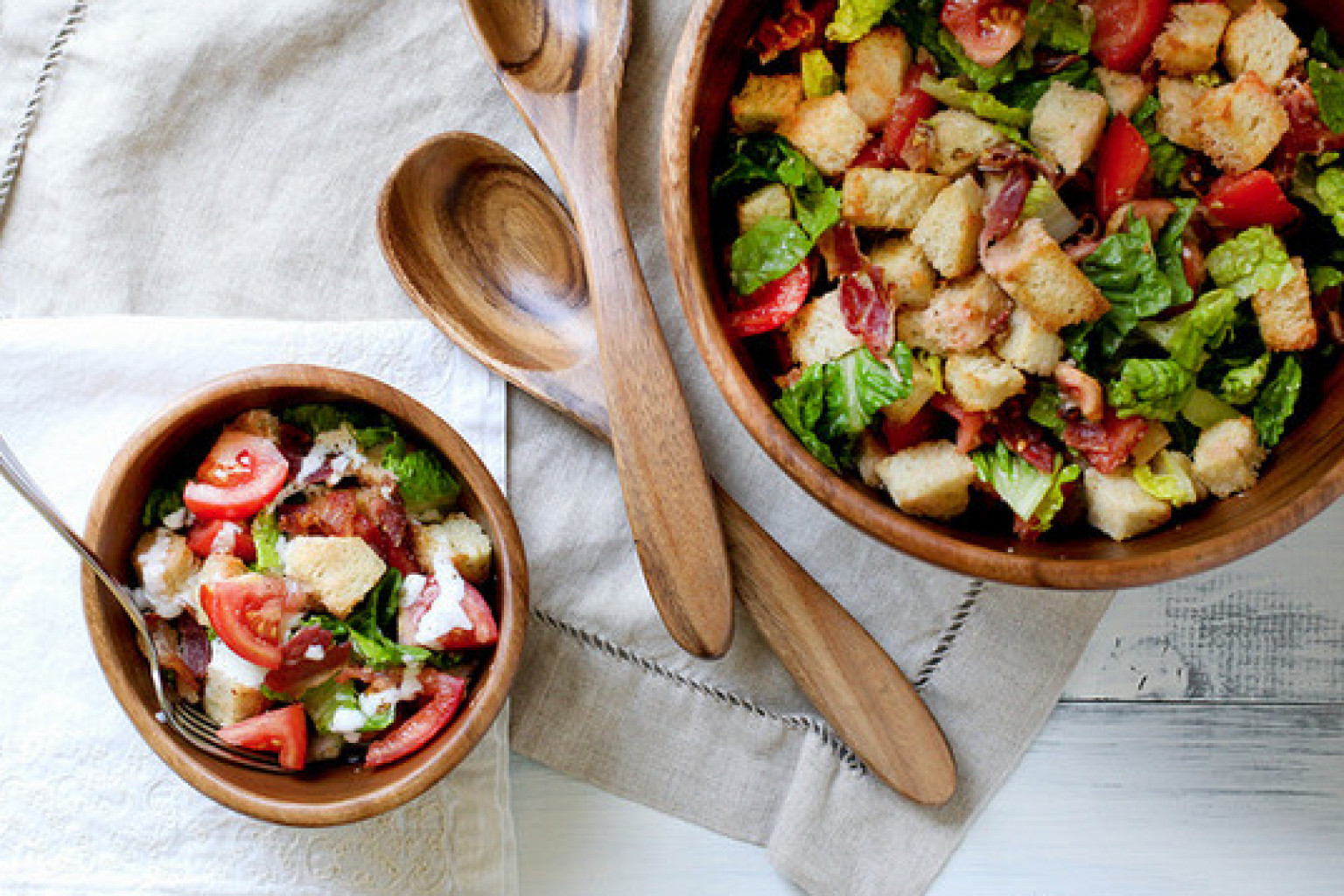 blt-bacon-PANZANELLA-SALAD-RECIPES-BREAD-croutons
